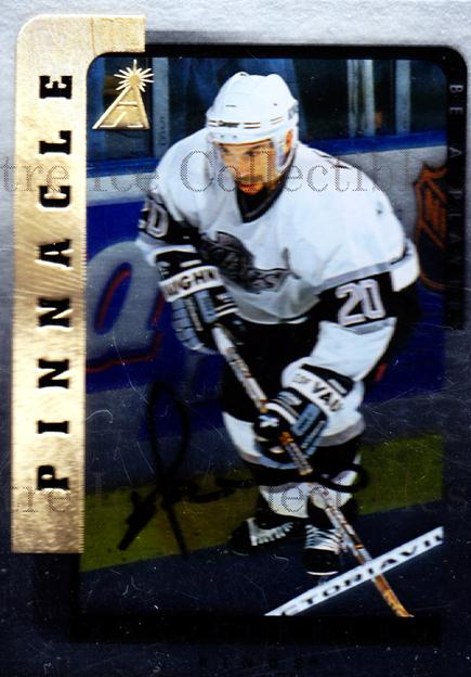 1996-97 Be A Player Auto Silver #139 Ray Ferraro<br/>2 In Stock - $5.00 each - <a href=https://centericecollectibles.foxycart.com/cart?name=1996-97%20Be%20A%20Player%20Auto%20Silver%20%23139%20Ray%20Ferraro...&quantity_max=2&price=$5.00&code=343991 class=foxycart> Buy it now! </a>