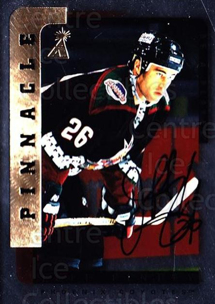 1996-97 Be A Player Auto Silver #156 Jeff Finley<br/>3 In Stock - $5.00 each - <a href=https://centericecollectibles.foxycart.com/cart?name=1996-97%20Be%20A%20Player%20Auto%20Silver%20%23156%20Jeff%20Finley...&quantity_max=3&price=$5.00&code=344008 class=foxycart> Buy it now! </a>