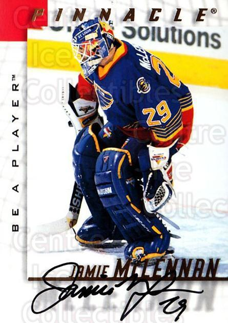 1997-98 Be A Player Auto #107 Jamie McLennan<br/>1 In Stock - $5.00 each - <a href=https://centericecollectibles.foxycart.com/cart?name=1997-98%20Be%20A%20Player%20Auto%20%23107%20Jamie%20McLennan...&quantity_max=1&price=$5.00&code=344185 class=foxycart> Buy it now! </a>