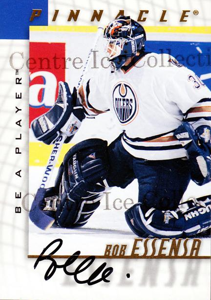 1997-98 Be A Player Auto #185 Bob Essensa<br/>1 In Stock - $3.00 each - <a href=https://centericecollectibles.foxycart.com/cart?name=1997-98%20Be%20A%20Player%20Auto%20%23185%20Bob%20Essensa...&quantity_max=1&price=$3.00&code=344269 class=foxycart> Buy it now! </a>