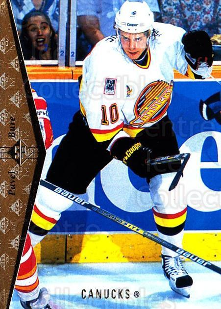 1994-95 SP #121 Pavel Bure<br/>4 In Stock - $1.00 each - <a href=https://centericecollectibles.foxycart.com/cart?name=1994-95%20SP%20%23121%20Pavel%20Bure...&quantity_max=4&price=$1.00&code=34426 class=foxycart> Buy it now! </a>