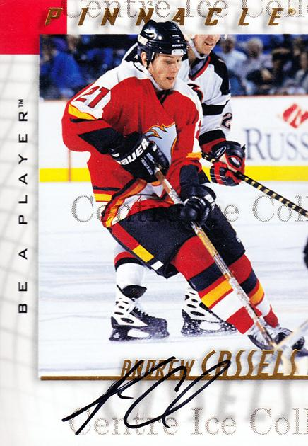 1997-98 Be A Player Auto #8 Andrew Cassels<br/>2 In Stock - $3.00 each - <a href=https://centericecollectibles.foxycart.com/cart?name=1997-98%20Be%20A%20Player%20Auto%20%238%20Andrew%20Cassels...&quantity_max=2&price=$3.00&code=344396 class=foxycart> Buy it now! </a>