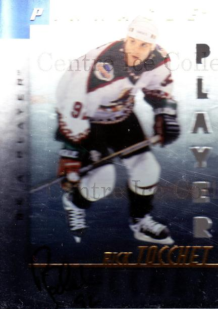 1997-98 Be A Player Auto Die Cut #127 Rick Tocchet<br/>1 In Stock - $5.00 each - <a href=https://centericecollectibles.foxycart.com/cart?name=1997-98%20Be%20A%20Player%20Auto%20Die%20Cut%20%23127%20Rick%20Tocchet...&quantity_max=1&price=$5.00&code=344457 class=foxycart> Buy it now! </a>