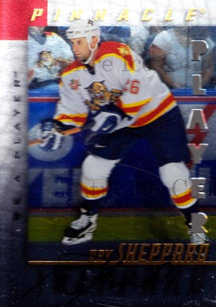 1997-98 Be A Player Auto Die Cut #46 Ray Sheppard<br/>2 In Stock - $5.00 each - <a href=https://centericecollectibles.foxycart.com/cart?name=1997-98%20Be%20A%20Player%20Auto%20Die%20Cut%20%2346%20Ray%20Sheppard...&quantity_max=2&price=$5.00&code=344609 class=foxycart> Buy it now! </a>