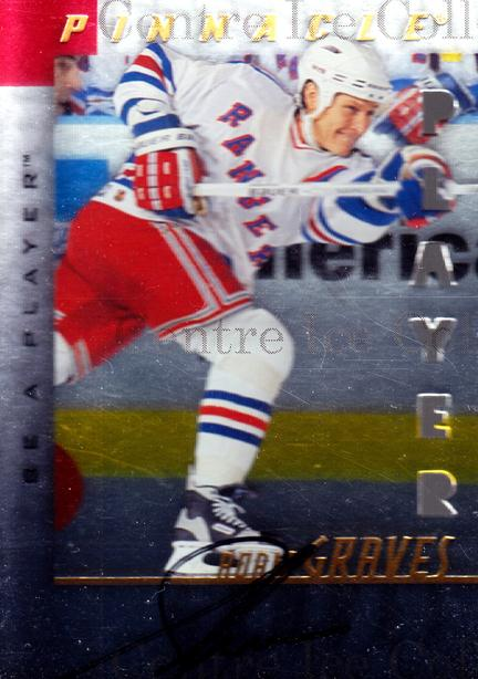 1997-98 Be A Player Auto Die Cut #58 Adam Graves<br/>1 In Stock - $5.00 each - <a href=https://centericecollectibles.foxycart.com/cart?name=1997-98%20Be%20A%20Player%20Auto%20Die%20Cut%20%2358%20Adam%20Graves...&quantity_max=1&price=$5.00&code=344622 class=foxycart> Buy it now! </a>