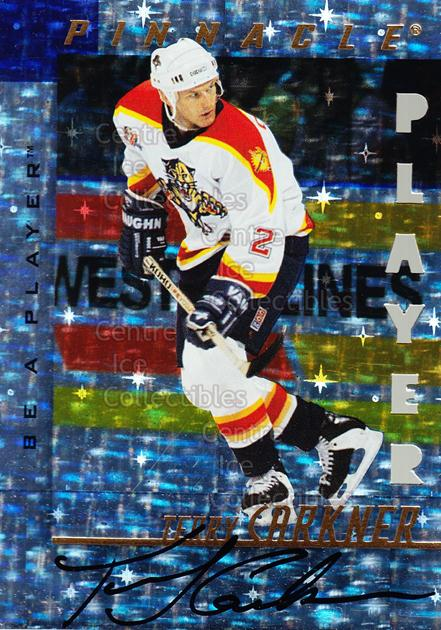 1997-98 Be A Player Auto Die Cut Prismatic #195 Terry Carkner<br/>1 In Stock - $5.00 each - <a href=https://centericecollectibles.foxycart.com/cart?name=1997-98%20Be%20A%20Player%20Auto%20Die%20Cut%20Prismatic%20%23195%20Terry%20Carkner...&quantity_max=1&price=$5.00&code=344780 class=foxycart> Buy it now! </a>