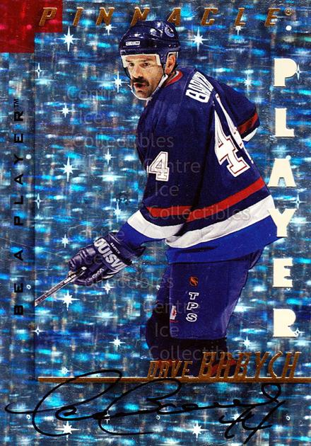 1997-98 Be A Player Auto Die Cut Prismatic #49 Dave Babych<br/>1 In Stock - $5.00 each - <a href=https://centericecollectibles.foxycart.com/cart?name=1997-98%20Be%20A%20Player%20Auto%20Die%20Cut%20Prismatic%20%2349%20Dave%20Babych...&quantity_max=1&price=$5.00&code=344862 class=foxycart> Buy it now! </a>