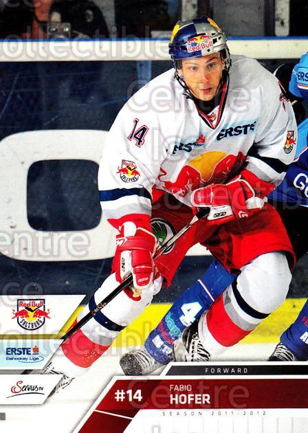 2011-12 Erste Bank Eishockey Liga EBEL #8 Fabio Hofer<br/>5 In Stock - $2.00 each - <a href=https://centericecollectibles.foxycart.com/cart?name=2011-12%20Erste%20Bank%20Eishockey%20Liga%20EBEL%20%238%20Fabio%20Hofer...&quantity_max=5&price=$2.00&code=344933 class=foxycart> Buy it now! </a>
