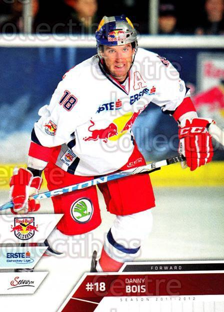 2011-12 Erste Bank Eishockey Liga EBEL #10 Danny Bois<br/>2 In Stock - $2.00 each - <a href=https://centericecollectibles.foxycart.com/cart?name=2011-12%20Erste%20Bank%20Eishockey%20Liga%20EBEL%20%2310%20Danny%20Bois...&quantity_max=2&price=$2.00&code=344935 class=foxycart> Buy it now! </a>