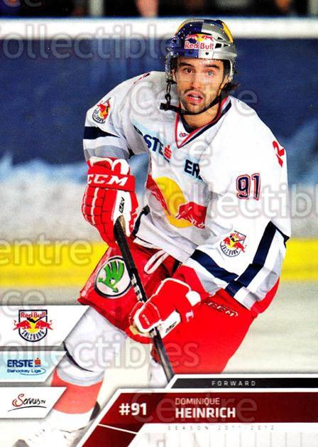 2011-12 Erste Bank Eishockey Liga EBEL #17 Dominique Heinrich<br/>2 In Stock - $2.00 each - <a href=https://centericecollectibles.foxycart.com/cart?name=2011-12%20Erste%20Bank%20Eishockey%20Liga%20EBEL%20%2317%20Dominique%20Heinr...&quantity_max=2&price=$2.00&code=344942 class=foxycart> Buy it now! </a>