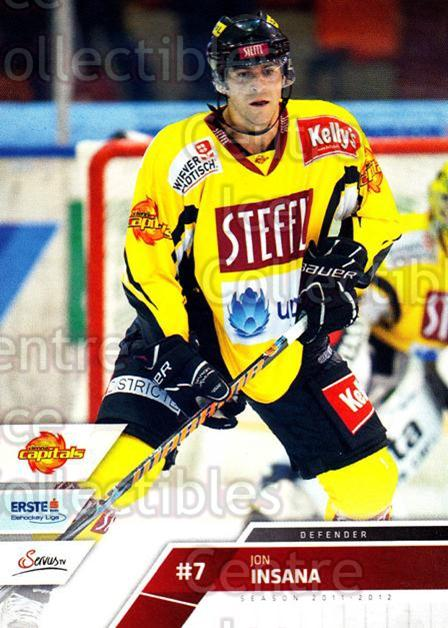 2011-12 Erste Bank Eishockey Liga EBEL #40 Jon Insana<br/>4 In Stock - $2.00 each - <a href=https://centericecollectibles.foxycart.com/cart?name=2011-12%20Erste%20Bank%20Eishockey%20Liga%20EBEL%20%2340%20Jon%20Insana...&quantity_max=4&price=$2.00&code=344965 class=foxycart> Buy it now! </a>