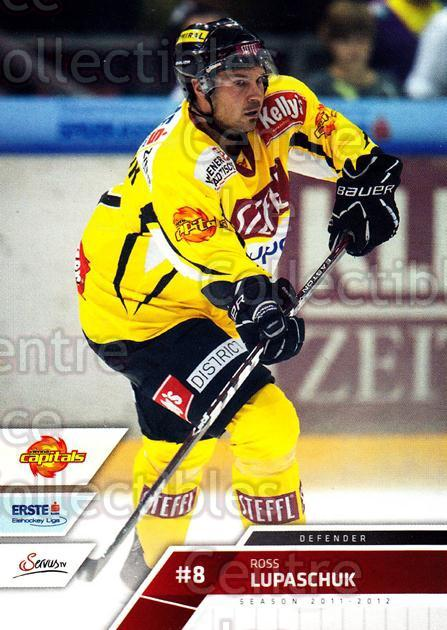 2011-12 Erste Bank Eishockey Liga EBEL #41 Ross Lupaschuk<br/>1 In Stock - $2.00 each - <a href=https://centericecollectibles.foxycart.com/cart?name=2011-12%20Erste%20Bank%20Eishockey%20Liga%20EBEL%20%2341%20Ross%20Lupaschuk...&quantity_max=1&price=$2.00&code=344966 class=foxycart> Buy it now! </a>