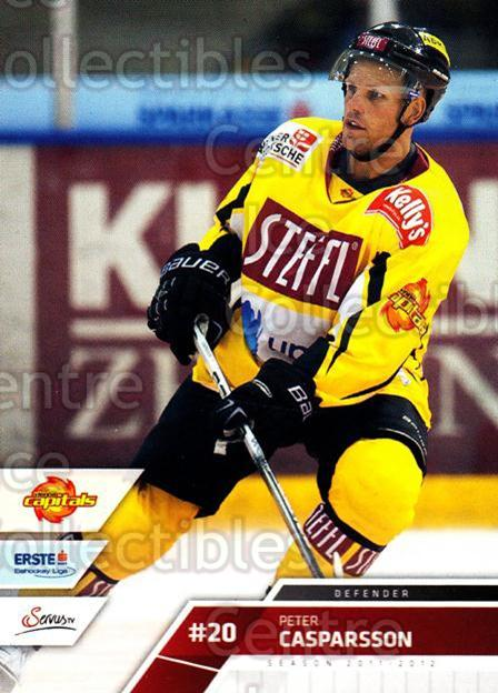 2011-12 Erste Bank Eishockey Liga EBEL #43 Peter Casparsson<br/>2 In Stock - $2.00 each - <a href=https://centericecollectibles.foxycart.com/cart?name=2011-12%20Erste%20Bank%20Eishockey%20Liga%20EBEL%20%2343%20Peter%20Casparsso...&quantity_max=2&price=$2.00&code=344968 class=foxycart> Buy it now! </a>