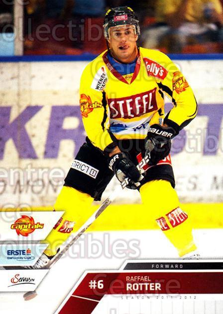 2011-12 Erste Bank Eishockey Liga EBEL #45 Raffael Rotter<br/>4 In Stock - $2.00 each - <a href=https://centericecollectibles.foxycart.com/cart?name=2011-12%20Erste%20Bank%20Eishockey%20Liga%20EBEL%20%2345%20Raffael%20Rotter...&quantity_max=4&price=$2.00&code=344970 class=foxycart> Buy it now! </a>