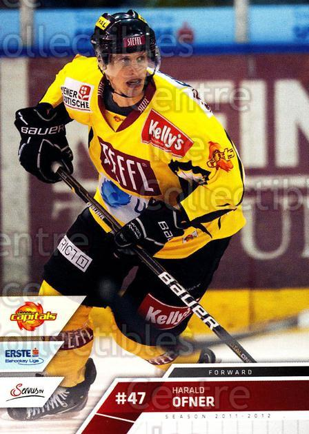 2011-12 Erste Bank Eishockey Liga EBEL #52 Harald Ofner<br/>6 In Stock - $2.00 each - <a href=https://centericecollectibles.foxycart.com/cart?name=2011-12%20Erste%20Bank%20Eishockey%20Liga%20EBEL%20%2352%20Harald%20Ofner...&quantity_max=6&price=$2.00&code=344977 class=foxycart> Buy it now! </a>