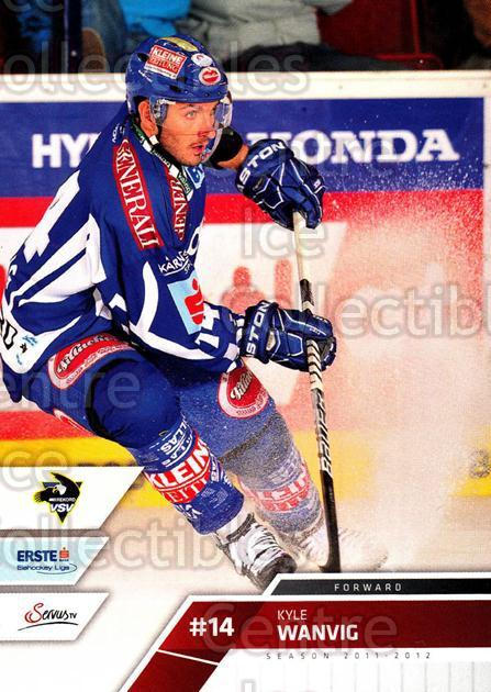 2011-12 Erste Bank Eishockey Liga EBEL #64 Kyle Wanvig<br/>2 In Stock - $2.00 each - <a href=https://centericecollectibles.foxycart.com/cart?name=2011-12%20Erste%20Bank%20Eishockey%20Liga%20EBEL%20%2364%20Kyle%20Wanvig...&quantity_max=2&price=$2.00&code=344989 class=foxycart> Buy it now! </a>