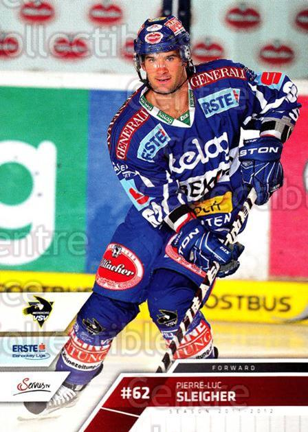 2011-12 Erste Bank Eishockey Liga EBEL #65 Pierre-Luc Sleigher<br/>4 In Stock - $2.00 each - <a href=https://centericecollectibles.foxycart.com/cart?name=2011-12%20Erste%20Bank%20Eishockey%20Liga%20EBEL%20%2365%20Pierre-Luc%20Slei...&quantity_max=4&price=$2.00&code=344990 class=foxycart> Buy it now! </a>