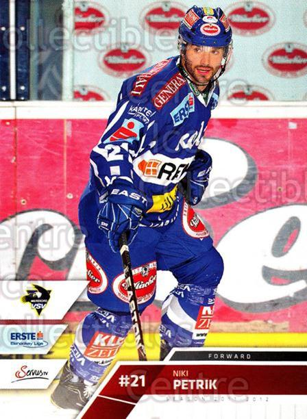 2011-12 Erste Bank Eishockey Liga EBEL #66 Niki Petrik<br/>5 In Stock - $2.00 each - <a href=https://centericecollectibles.foxycart.com/cart?name=2011-12%20Erste%20Bank%20Eishockey%20Liga%20EBEL%20%2366%20Niki%20Petrik...&quantity_max=5&price=$2.00&code=344991 class=foxycart> Buy it now! </a>
