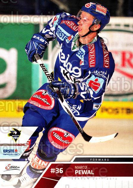 2011-12 Erste Bank Eishockey Liga EBEL #72 Marco Pewal<br/>6 In Stock - $2.00 each - <a href=https://centericecollectibles.foxycart.com/cart?name=2011-12%20Erste%20Bank%20Eishockey%20Liga%20EBEL%20%2372%20Marco%20Pewal...&quantity_max=6&price=$2.00&code=344997 class=foxycart> Buy it now! </a>
