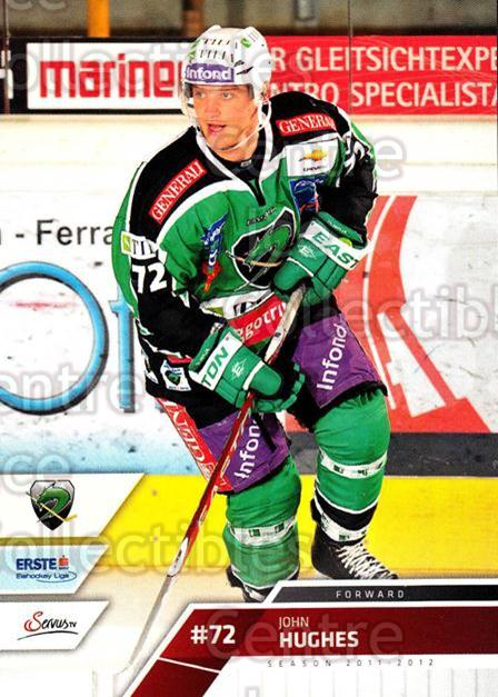 2011-12 Erste Bank Eishockey Liga EBEL #80 John Hughes<br/>3 In Stock - $2.00 each - <a href=https://centericecollectibles.foxycart.com/cart?name=2011-12%20Erste%20Bank%20Eishockey%20Liga%20EBEL%20%2380%20John%20Hughes...&quantity_max=3&price=$2.00&code=345005 class=foxycart> Buy it now! </a>