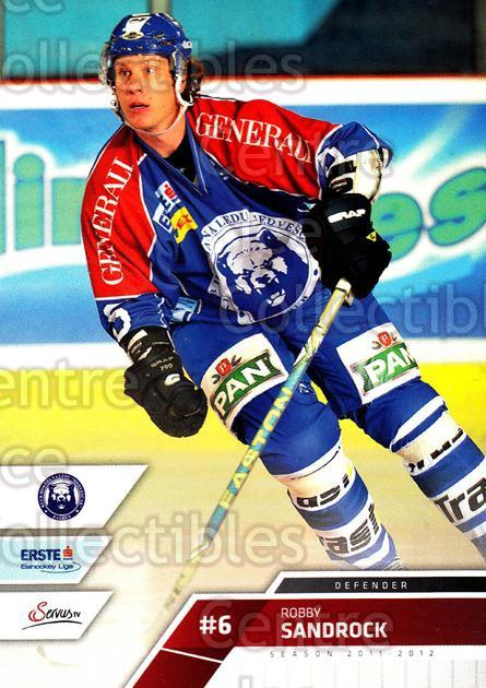 2011-12 Erste Bank Eishockey Liga EBEL #92 Robby Sandrock<br/>2 In Stock - $2.00 each - <a href=https://centericecollectibles.foxycart.com/cart?name=2011-12%20Erste%20Bank%20Eishockey%20Liga%20EBEL%20%2392%20Robby%20Sandrock...&quantity_max=2&price=$2.00&code=345017 class=foxycart> Buy it now! </a>