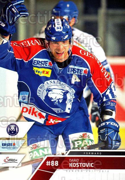 2011-12 Erste Bank Eishockey Liga EBEL #105 Dario Kostovic<br/>4 In Stock - $2.00 each - <a href=https://centericecollectibles.foxycart.com/cart?name=2011-12%20Erste%20Bank%20Eishockey%20Liga%20EBEL%20%23105%20Dario%20Kostovic...&quantity_max=4&price=$2.00&code=345030 class=foxycart> Buy it now! </a>