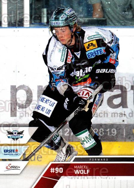 2011-12 Erste Bank Eishockey Liga EBEL #125 Marcel Wolf<br/>4 In Stock - $2.00 each - <a href=https://centericecollectibles.foxycart.com/cart?name=2011-12%20Erste%20Bank%20Eishockey%20Liga%20EBEL%20%23125%20Marcel%20Wolf...&quantity_max=4&price=$2.00&code=345050 class=foxycart> Buy it now! </a>