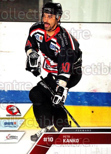 2011-12 Erste Bank Eishockey Liga EBEL #191 Petr Kanko<br/>3 In Stock - $2.00 each - <a href=https://centericecollectibles.foxycart.com/cart?name=2011-12%20Erste%20Bank%20Eishockey%20Liga%20EBEL%20%23191%20Petr%20Kanko...&quantity_max=3&price=$2.00&code=345116 class=foxycart> Buy it now! </a>