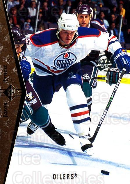 1994-95 SP #40 Jason Arnott<br/>7 In Stock - $1.00 each - <a href=https://centericecollectibles.foxycart.com/cart?name=1994-95%20SP%20%2340%20Jason%20Arnott...&quantity_max=7&price=$1.00&code=34528 class=foxycart> Buy it now! </a>