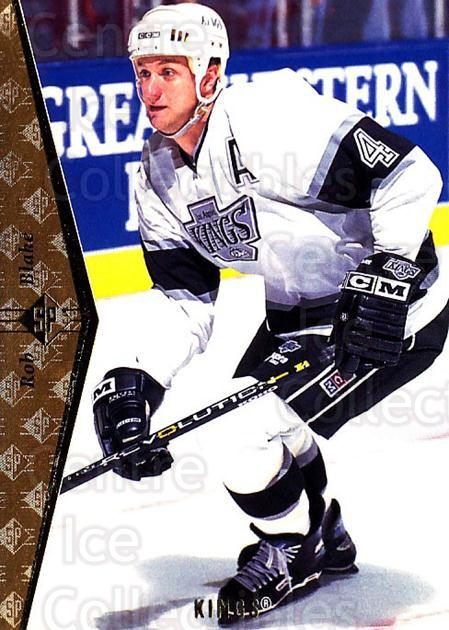 1994-95 SP #53 Rob Blake<br/>7 In Stock - $1.00 each - <a href=https://centericecollectibles.foxycart.com/cart?name=1994-95%20SP%20%2353%20Rob%20Blake...&quantity_max=7&price=$1.00&code=34542 class=foxycart> Buy it now! </a>