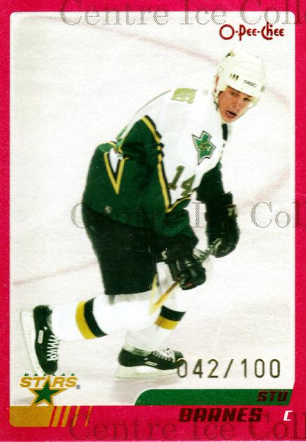 2003-04 O-pee-chee Red #277 Stu Barnes<br/>1 In Stock - $5.00 each - <a href=https://centericecollectibles.foxycart.com/cart?name=2003-04%20O-pee-chee%20Red%20%23277%20Stu%20Barnes...&quantity_max=1&price=$5.00&code=346014 class=foxycart> Buy it now! </a>