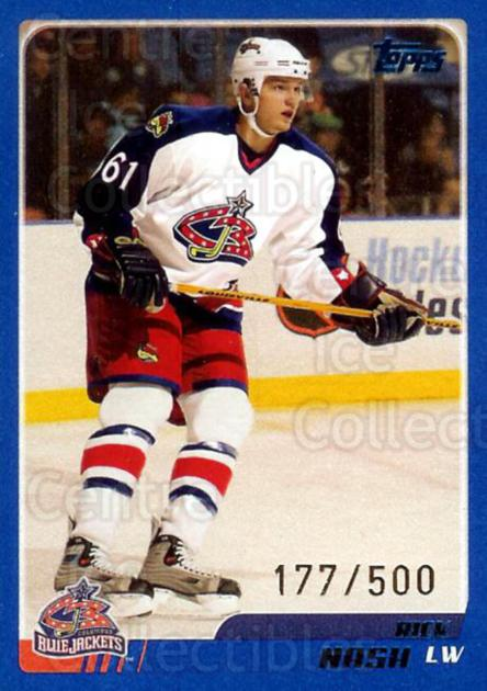 2003-04 Topps Blue #31 Rick Nash<br/>1 In Stock - $2.00 each - <a href=https://centericecollectibles.foxycart.com/cart?name=2003-04%20Topps%20Blue%20%2331%20Rick%20Nash...&quantity_max=1&price=$2.00&code=347468 class=foxycart> Buy it now! </a>