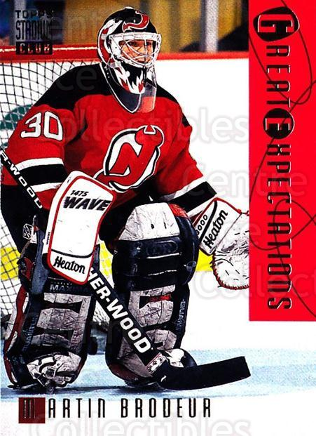 1994-95 Stadium Club #119 Martin Brodeur<br/>1 In Stock - $2.00 each - <a href=https://centericecollectibles.foxycart.com/cart?name=1994-95%20Stadium%20Club%20%23119%20Martin%20Brodeur...&quantity_max=1&price=$2.00&code=34769 class=foxycart> Buy it now! </a>