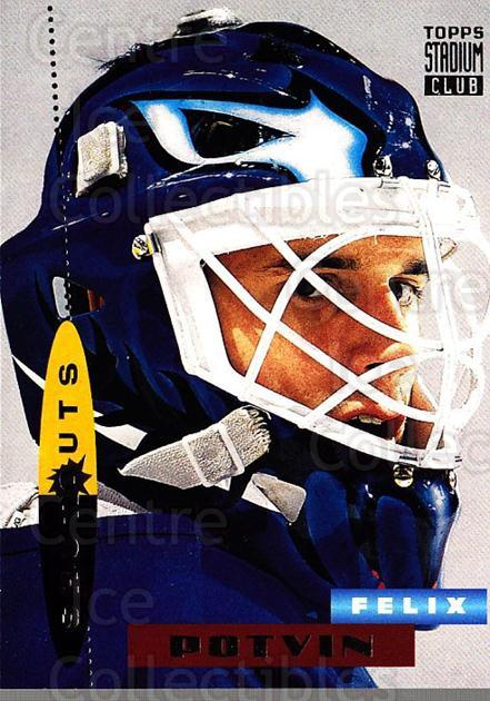 1994-95 Stadium Club #185 Felix Potvin<br/>2 In Stock - $1.00 each - <a href=https://centericecollectibles.foxycart.com/cart?name=1994-95%20Stadium%20Club%20%23185%20Felix%20Potvin...&quantity_max=2&price=$1.00&code=34840 class=foxycart> Buy it now! </a>