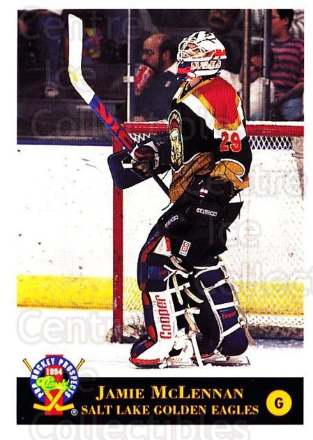 1994 Classic Pro Prospects #112 Jamie McLennan<br/>7 In Stock - $1.00 each - <a href=https://centericecollectibles.foxycart.com/cart?name=1994%20Classic%20Pro%20Prospects%20%23112%20Jamie%20McLennan...&quantity_max=7&price=$1.00&code=3485 class=foxycart> Buy it now! </a>