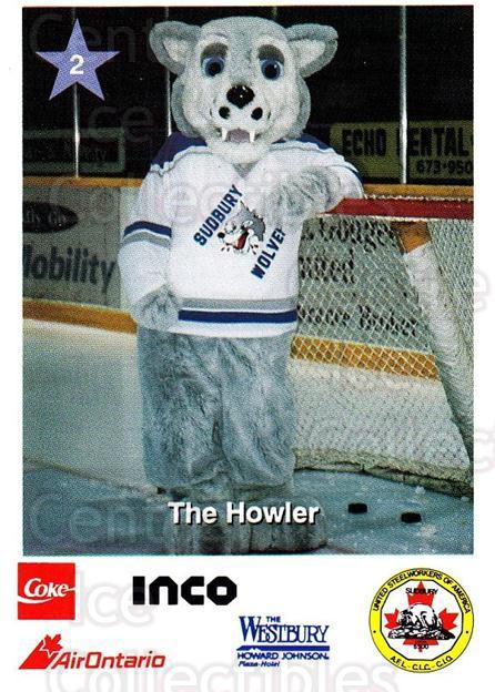 1994-95 Sudbury Wolves Police #2 Mascot<br/>1 In Stock - $3.00 each - <a href=https://centericecollectibles.foxycart.com/cart?name=1994-95%20Sudbury%20Wolves%20Police%20%232%20Mascot...&quantity_max=1&price=$3.00&code=34864 class=foxycart> Buy it now! </a>