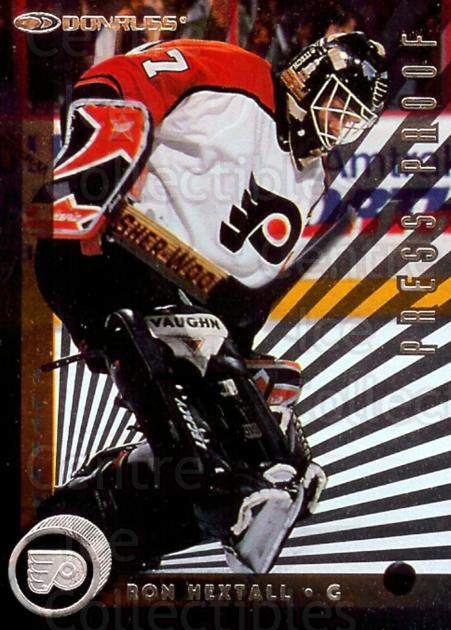1997-98 Donruss Press Proofs Silver #114 Ron Hextall<br/>1 In Stock - $2.00 each - <a href=https://centericecollectibles.foxycart.com/cart?name=1997-98%20Donruss%20Press%20Proofs%20Silver%20%23114%20Ron%20Hextall...&quantity_max=1&price=$2.00&code=348699 class=foxycart> Buy it now! </a>