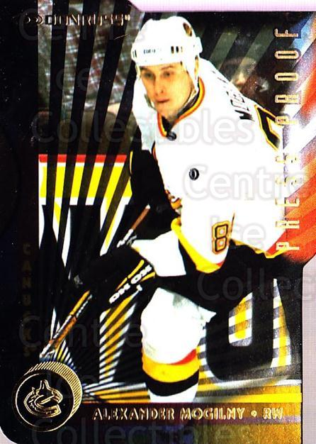 1997-98 Donruss Press Proofs Gold #106 Alexander Mogilny<br/>2 In Stock - $5.00 each - <a href=https://centericecollectibles.foxycart.com/cart?name=1997-98%20Donruss%20Press%20Proofs%20Gold%20%23106%20Alexander%20Mogil...&quantity_max=2&price=$5.00&code=348920 class=foxycart> Buy it now! </a>