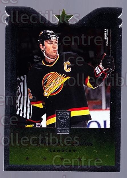 1995-96 Donruss Elite Die Cuts #45 Trevor Linden<br/>2 In Stock - $3.00 each - <a href=https://centericecollectibles.foxycart.com/cart?name=1995-96%20Donruss%20Elite%20Die%20Cuts%20%2345%20Trevor%20Linden...&quantity_max=2&price=$3.00&code=349194 class=foxycart> Buy it now! </a>
