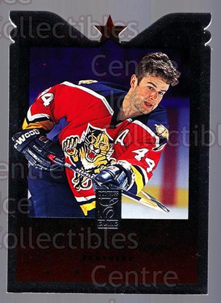 1995-96 Donruss Elite Die Cuts #65 Rob Niedermayer<br/>4 In Stock - $3.00 each - <a href=https://centericecollectibles.foxycart.com/cart?name=1995-96%20Donruss%20Elite%20Die%20Cuts%20%2365%20Rob%20Niedermayer...&quantity_max=4&price=$3.00&code=349214 class=foxycart> Buy it now! </a>