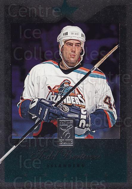 1995-96 Donruss Elite Uncut Die Cuts #57 Todd Bertuzzi<br/>13 In Stock - $10.00 each - <a href=https://centericecollectibles.foxycart.com/cart?name=1995-96%20Donruss%20Elite%20Uncut%20Die%20Cuts%20%2357%20Todd%20Bertuzzi...&price=$10.00&code=349252 class=foxycart> Buy it now! </a>