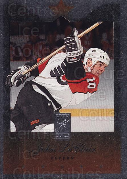 1995-96 Donruss Elite Uncut Die Cuts #56 John LeClair<br/>7 In Stock - $3.00 each - <a href=https://centericecollectibles.foxycart.com/cart?name=1995-96%20Donruss%20Elite%20Uncut%20Die%20Cuts%20%2356%20John%20LeClair...&quantity_max=7&price=$3.00&code=349315 class=foxycart> Buy it now! </a>
