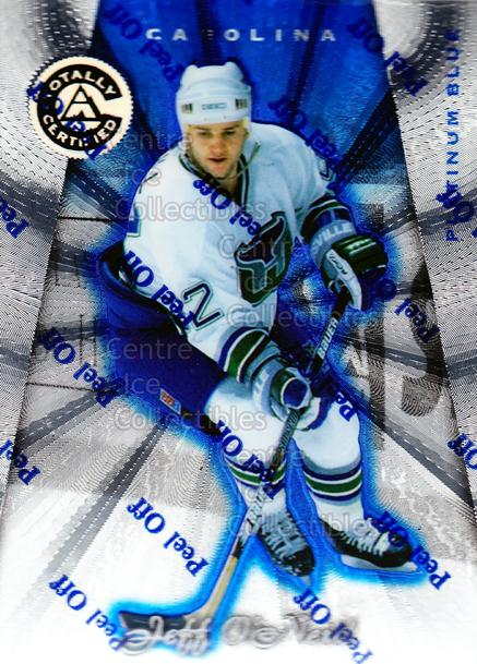 1997-98 Pinnacle Totally Certified Platinum Blue #128 Jeff O'Neill<br/>4 In Stock - $3.00 each - <a href=https://centericecollectibles.foxycart.com/cart?name=1997-98%20Pinnacle%20Totally%20Certified%20Platinum%20Blue%20%23128%20Jeff%20O'Neill...&quantity_max=4&price=$3.00&code=349909 class=foxycart> Buy it now! </a>