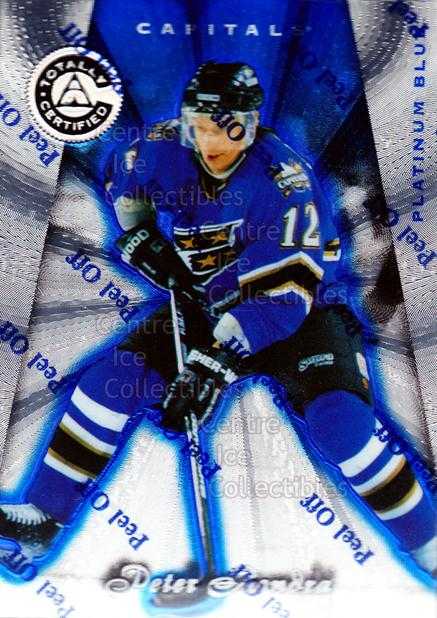 1997-98 Pinnacle Totally Certified Platinum Blue #46 Peter Bondra<br/>2 In Stock - $3.00 each - <a href=https://centericecollectibles.foxycart.com/cart?name=1997-98%20Pinnacle%20Totally%20Certified%20Platinum%20Blue%20%2346%20Peter%20Bondra...&quantity_max=2&price=$3.00&code=349923 class=foxycart> Buy it now! </a>
