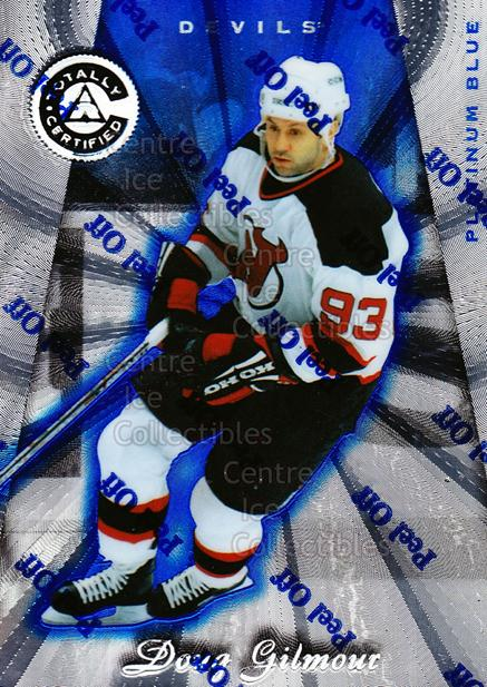 1997-98 Pinnacle Totally Certified Platinum Blue #51 Doug Gilmour<br/>2 In Stock - $3.00 each - <a href=https://centericecollectibles.foxycart.com/cart?name=1997-98%20Pinnacle%20Totally%20Certified%20Platinum%20Blue%20%2351%20Doug%20Gilmour...&quantity_max=2&price=$3.00&code=349928 class=foxycart> Buy it now! </a>
