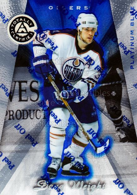 1997-98 Pinnacle Totally Certified Platinum Blue #66 Doug Weight<br/>2 In Stock - $3.00 each - <a href=https://centericecollectibles.foxycart.com/cart?name=1997-98%20Pinnacle%20Totally%20Certified%20Platinum%20Blue%20%2366%20Doug%20Weight...&quantity_max=2&price=$3.00&code=349940 class=foxycart> Buy it now! </a>