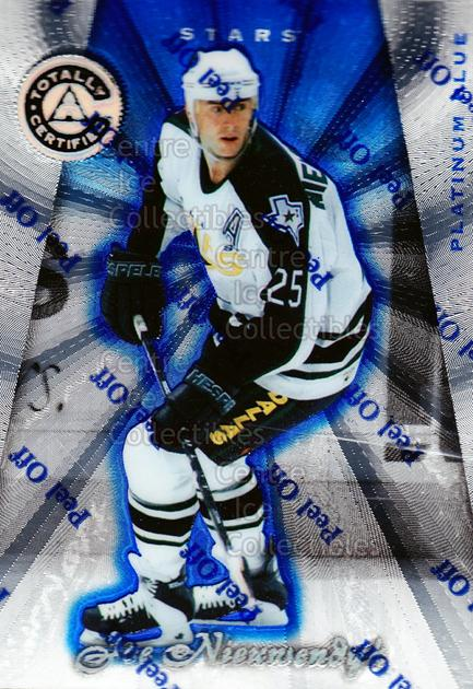 1997-98 Pinnacle Totally Certified Platinum Blue #76 Joe Nieuwendyk<br/>2 In Stock - $3.00 each - <a href=https://centericecollectibles.foxycart.com/cart?name=1997-98%20Pinnacle%20Totally%20Certified%20Platinum%20Blue%20%2376%20Joe%20Nieuwendyk...&quantity_max=2&price=$3.00&code=349948 class=foxycart> Buy it now! </a>