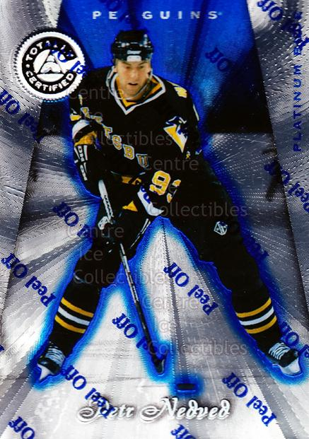 1997-98 Pinnacle Totally Certified Platinum Blue #95 Petr Nedved<br/>3 In Stock - $3.00 each - <a href=https://centericecollectibles.foxycart.com/cart?name=1997-98%20Pinnacle%20Totally%20Certified%20Platinum%20Blue%20%2395%20Petr%20Nedved...&quantity_max=3&price=$3.00&code=349967 class=foxycart> Buy it now! </a>