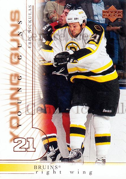 2000-01 Upper Deck #181 Eric Nickulas<br/>5 In Stock - $3.00 each - <a href=https://centericecollectibles.foxycart.com/cart?name=2000-01%20Upper%20Deck%20%23181%20Eric%20Nickulas...&price=$3.00&code=350014 class=foxycart> Buy it now! </a>