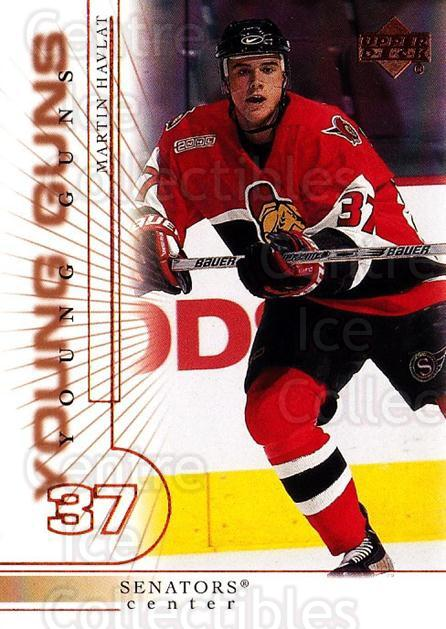 2000-01 Upper Deck #414 Martin Havlat<br/>1 In Stock - $10.00 each - <a href=https://centericecollectibles.foxycart.com/cart?name=2000-01%20Upper%20Deck%20%23414%20Martin%20Havlat...&quantity_max=1&price=$10.00&code=350039 class=foxycart> Buy it now! </a>